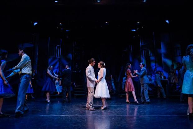 Tony (Ahad Mir) and Maria (Jocelyn Francescut) in West Side Story. Photo Credit: Citrus Photography.