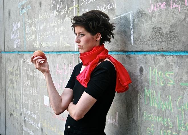Devon More's Berlin Waltz ran July 31 - August 8 as part of the 2015 Calgary Fringe Festival. Photo Credit: Petrocker Photography.